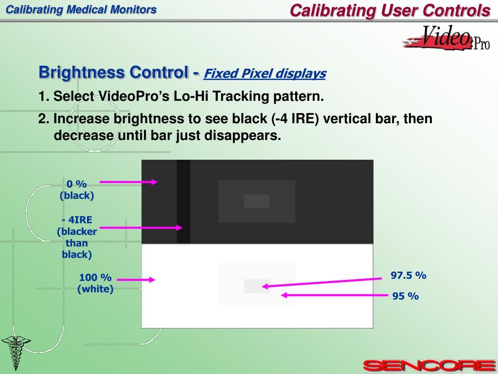 Calibrating User Controls