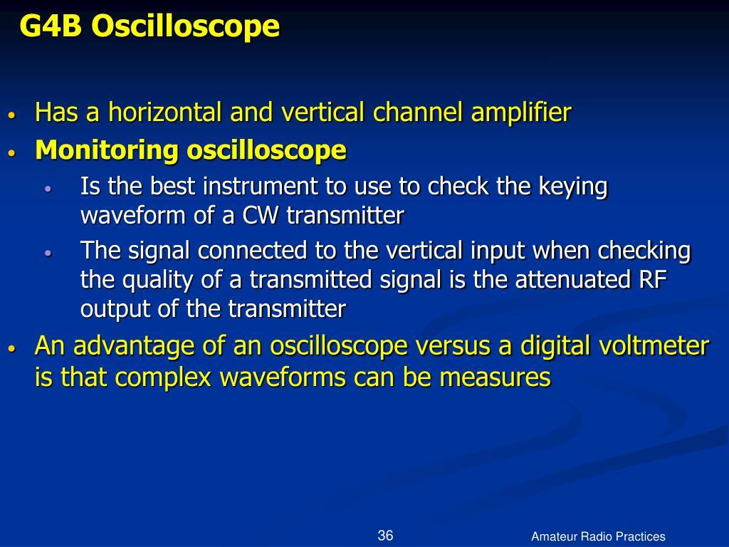 G4B Oscilloscope