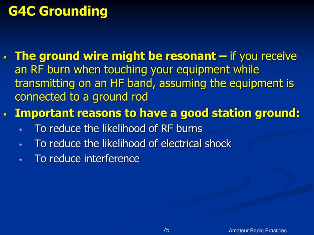 G4C Grounding