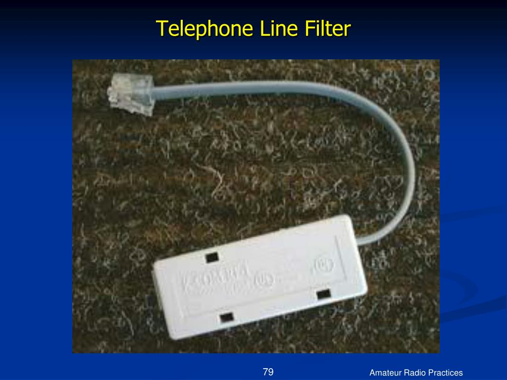 Telephone Line Filter