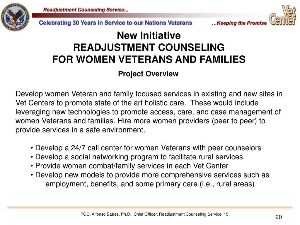 Readjustment Counseling Service...