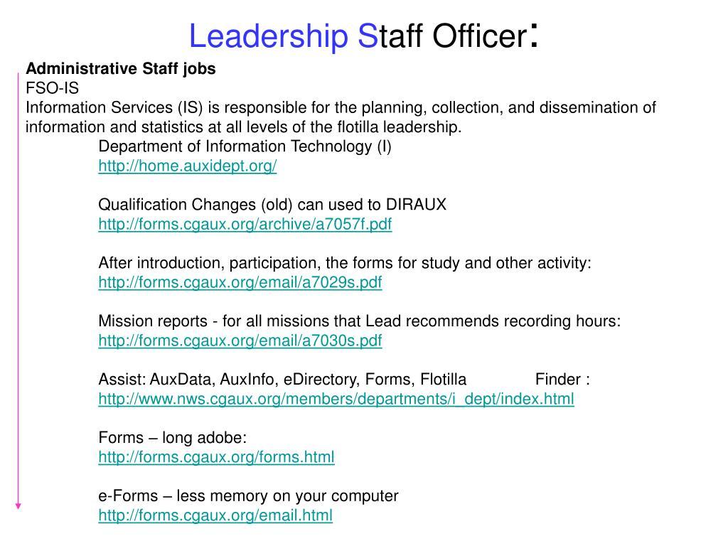 Leadership S