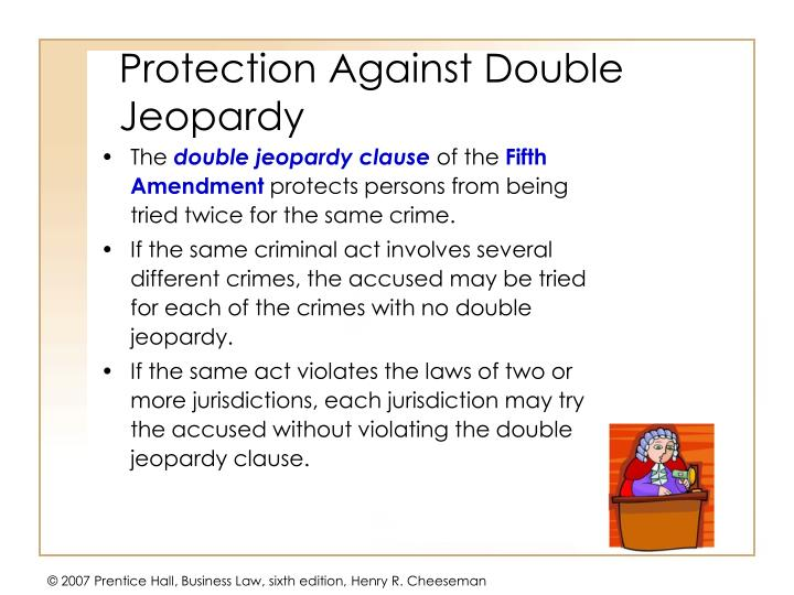 Protection Against Double Jeopardy