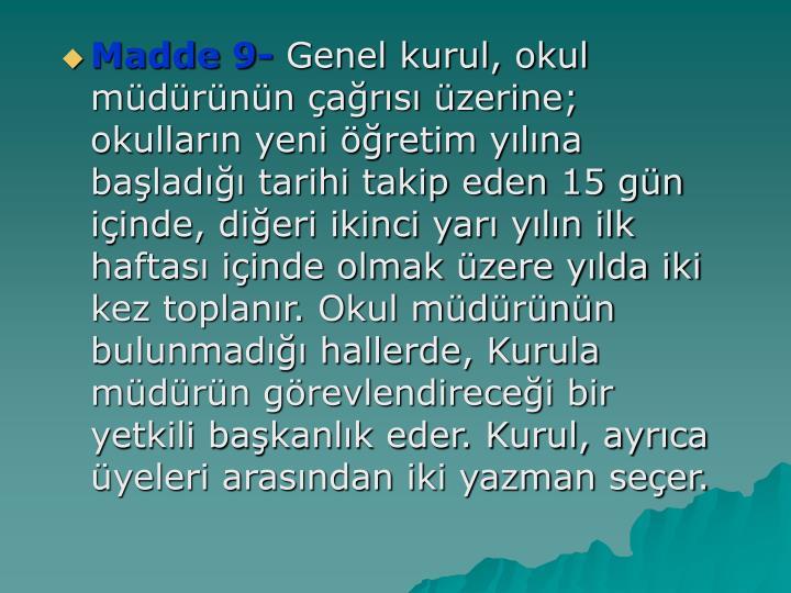 Madde 9-