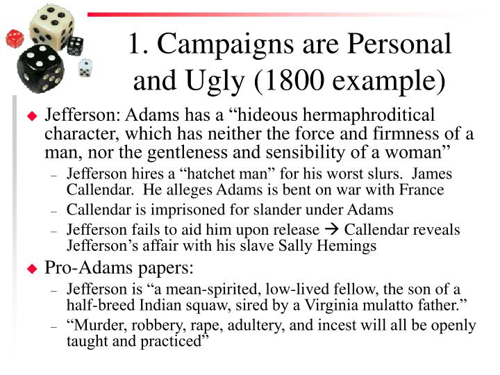 1 campaigns are personal and ugly 1800 example