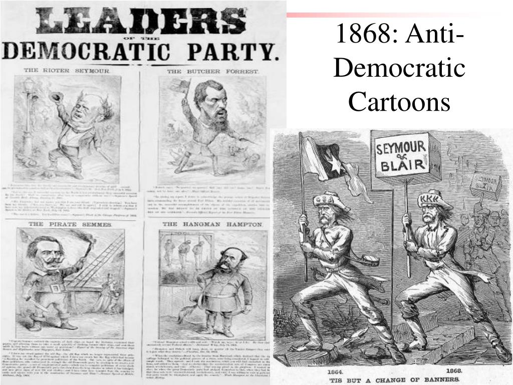 1868: Anti-Democratic Cartoons