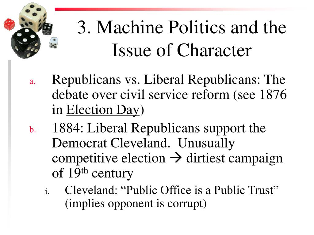 3. Machine Politics and the Issue of Character