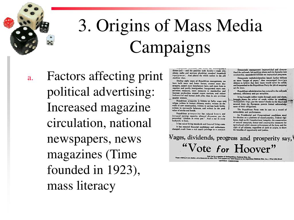 3. Origins of Mass Media Campaigns