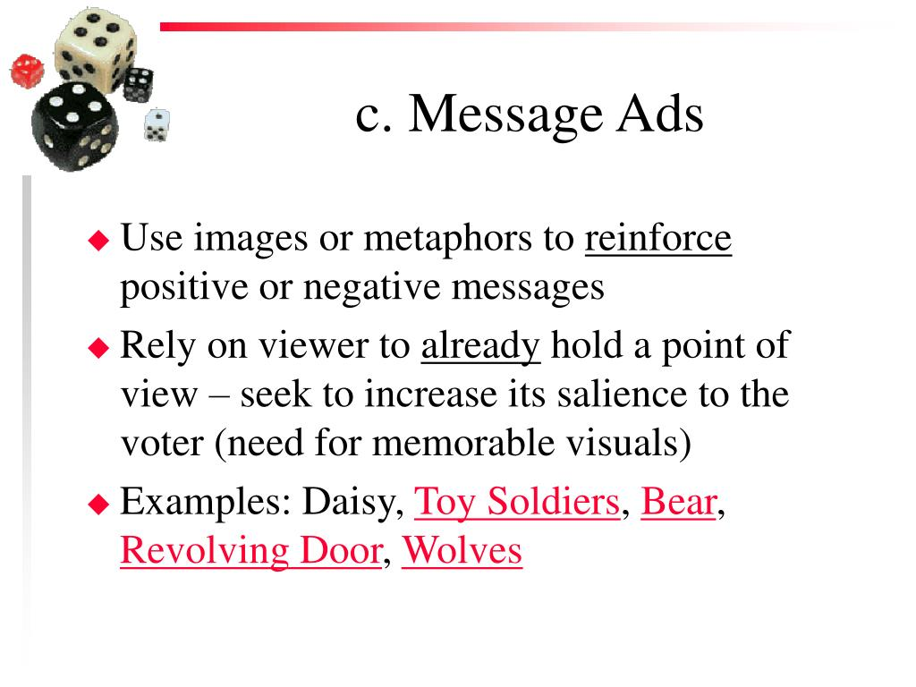 c. Message Ads