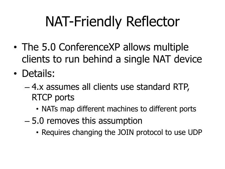 NAT-Friendly Reflector
