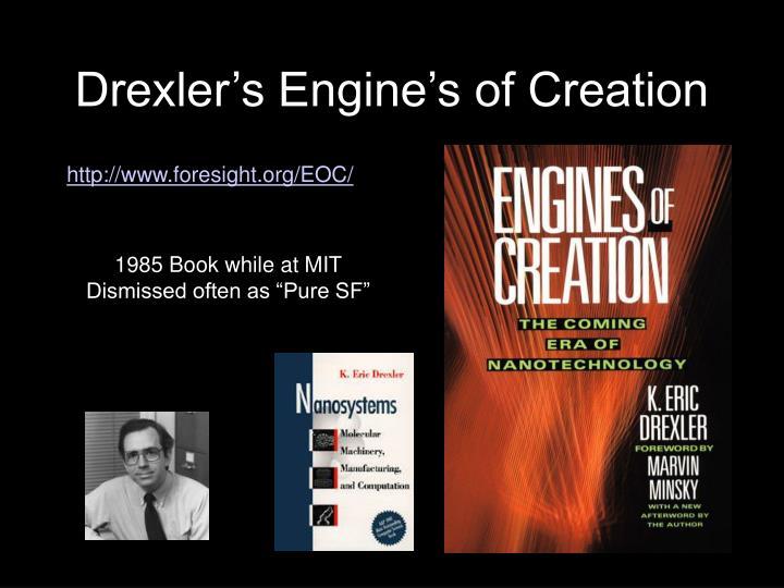 Drexler's Engine's of Creation