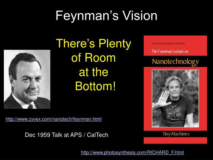 Feynman's Vision