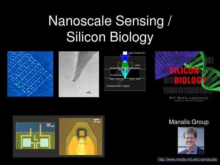 Nanoscale Sensing /