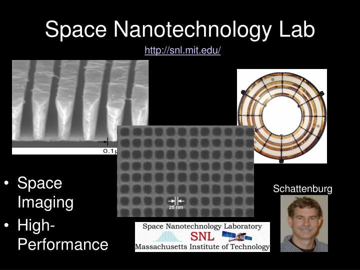 Space Nanotechnology Lab