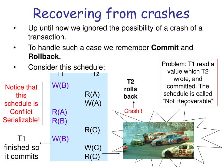 Recovering from crashes