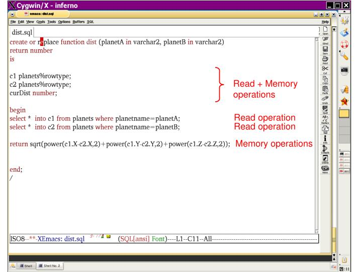 Read + Memory operations