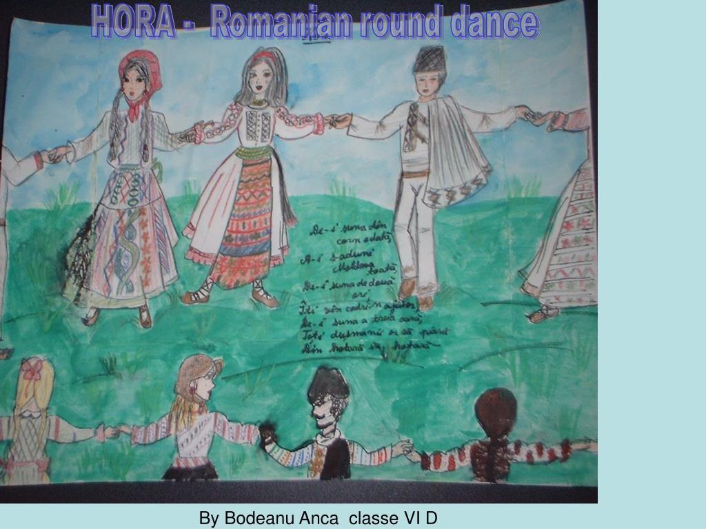 HORA -  Romanian round dance