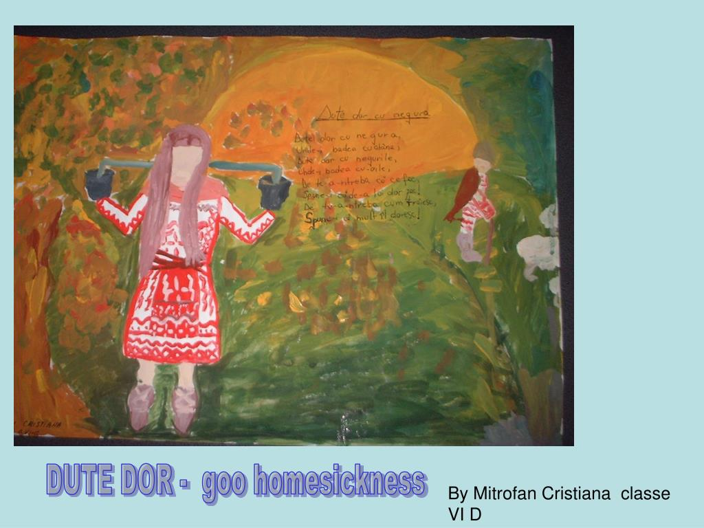 DUTE DOR -  goo homesickness
