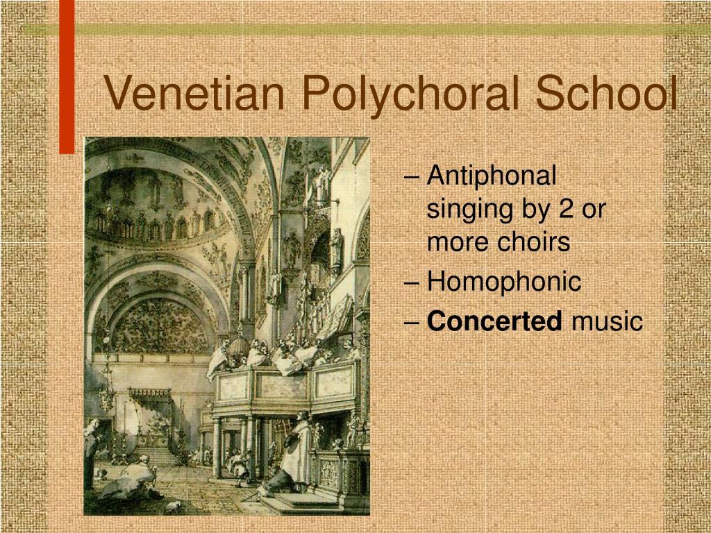 Venetian Polychoral School