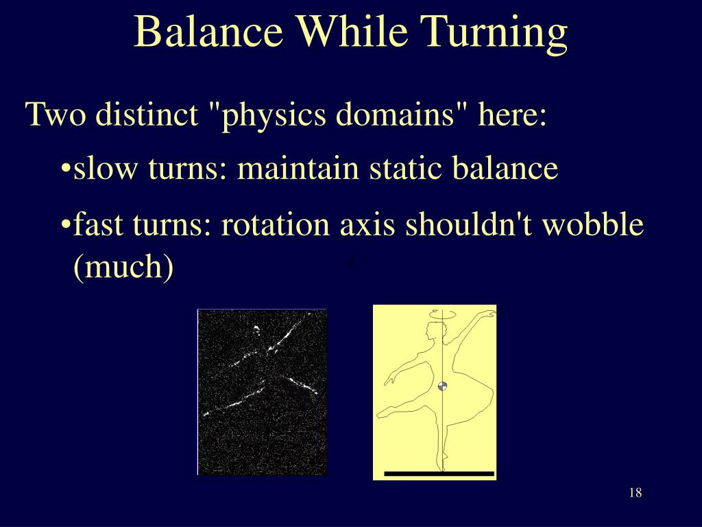 Balance While Turning