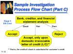 sample investigation process flow chart part c