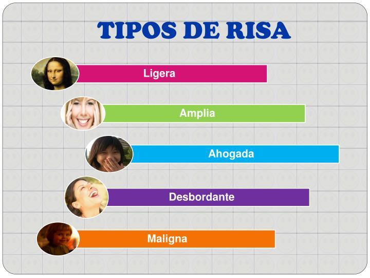 TIPOS DE RISA