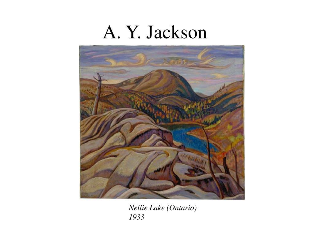 A. Y. Jackson