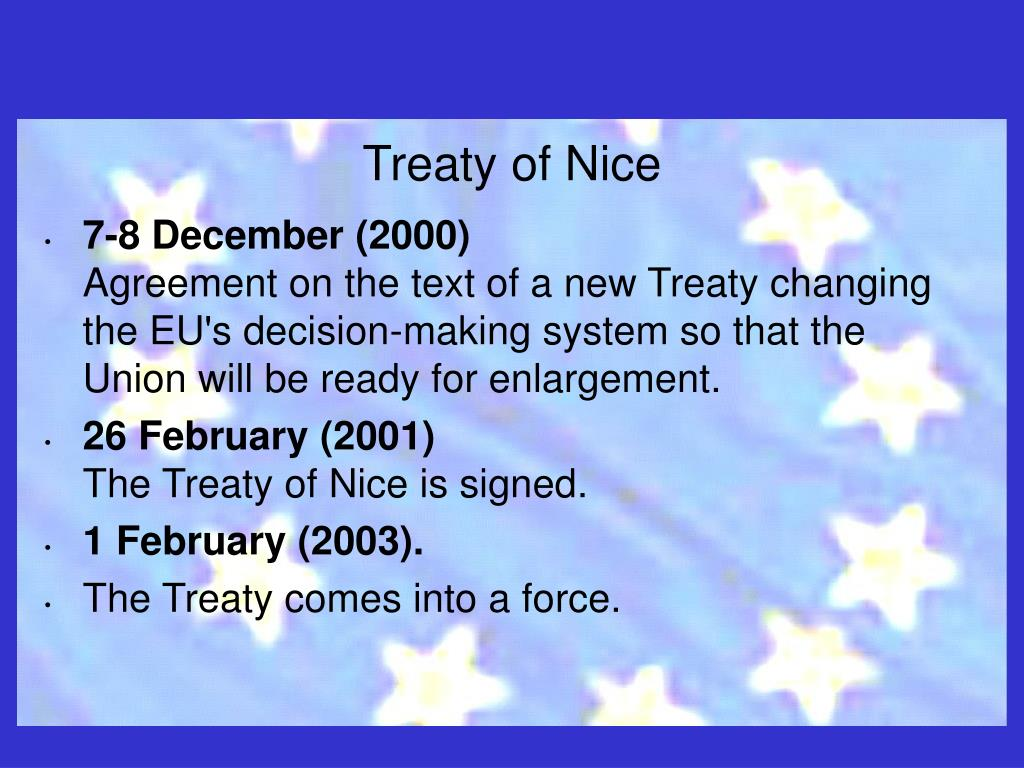 Treaty of Nice