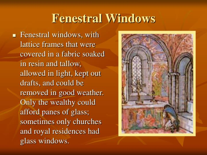 Fenestral Windows