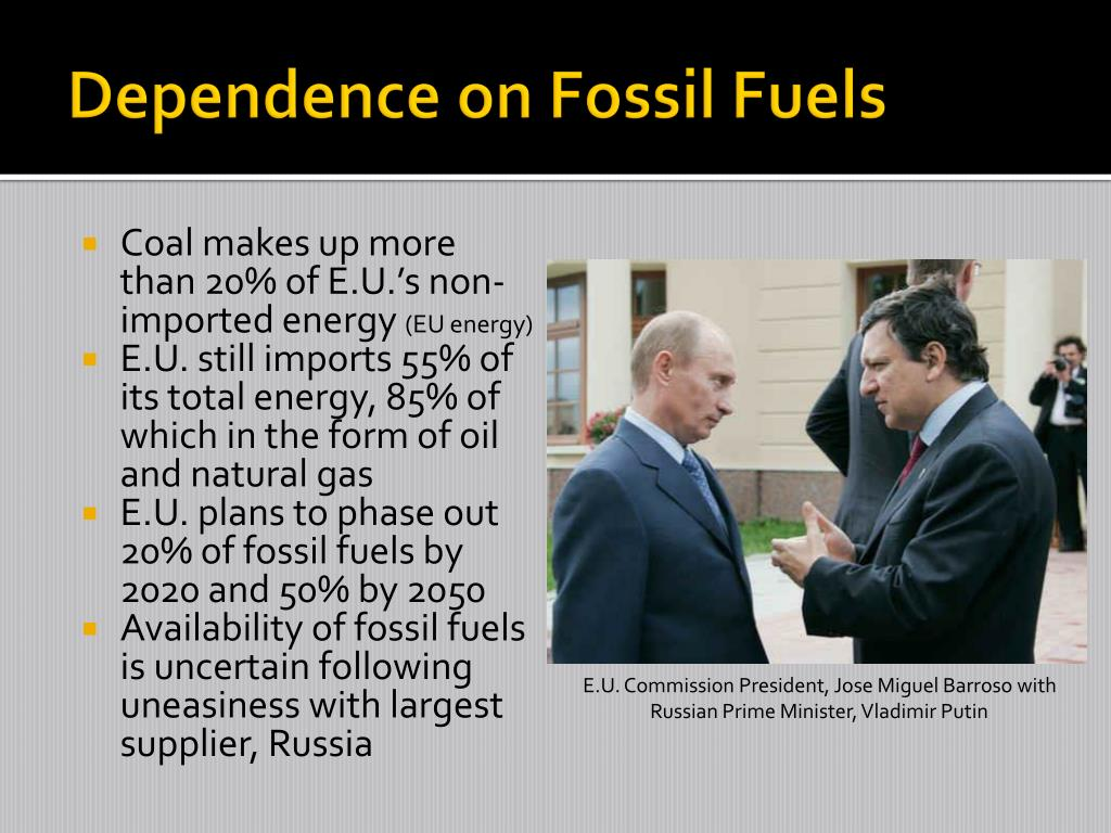 Dependence on Fossil Fuels