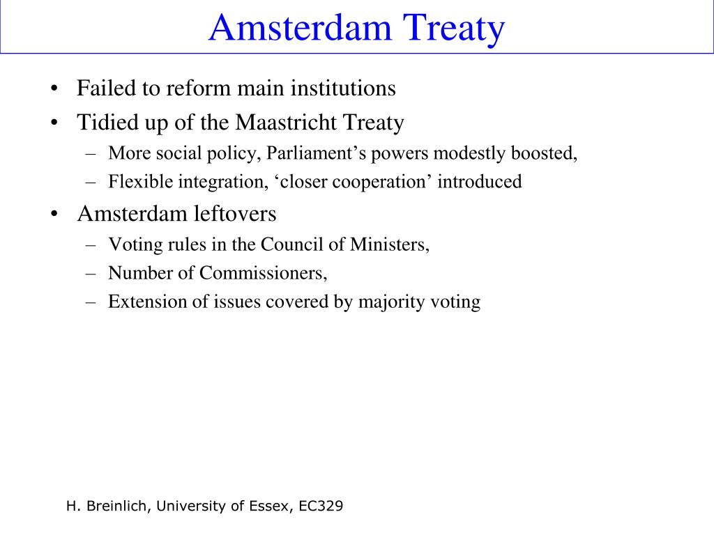 Amsterdam Treaty