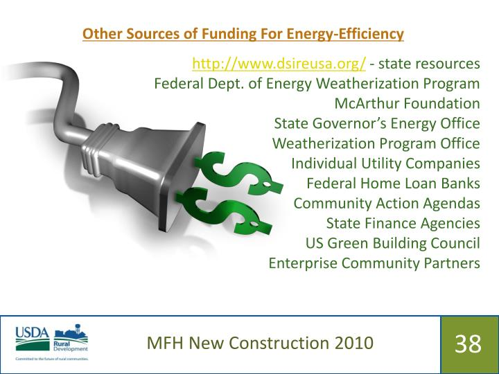 Other Sources of Funding For Energy-Efficiency