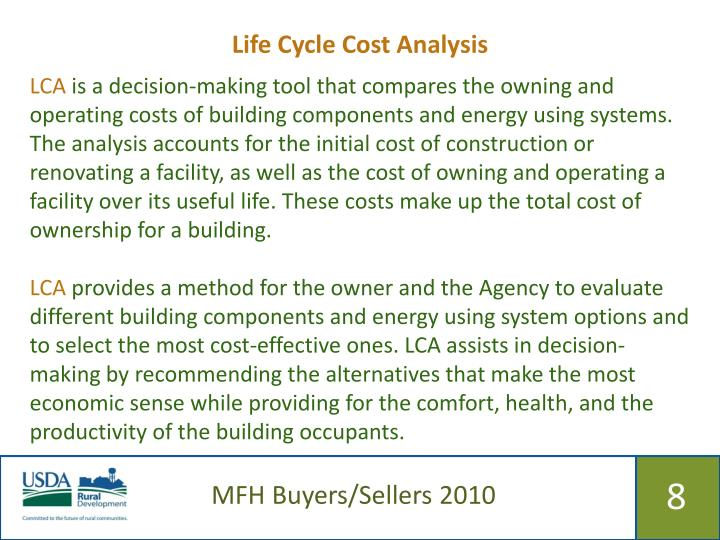Life Cycle Cost Analysis