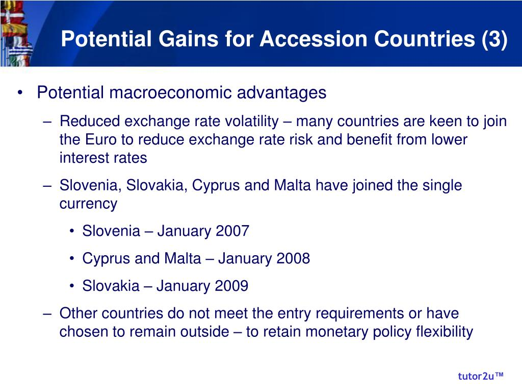 Potential Gains for Accession Countries (3)