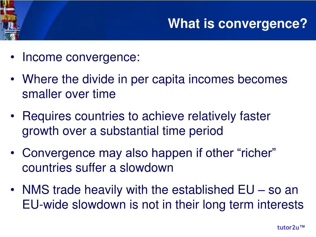 What is convergence?