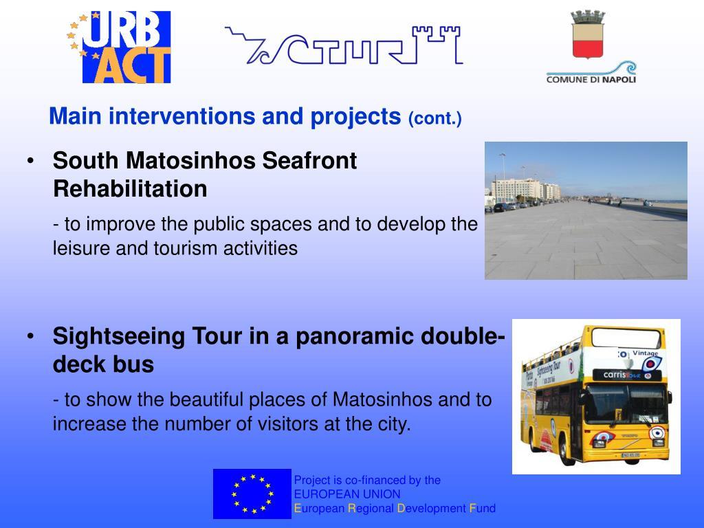 South Matosinhos Seafront Rehabilitation