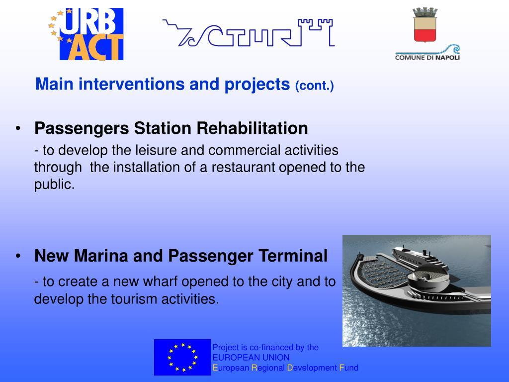 Passengers Station Rehabilitation
