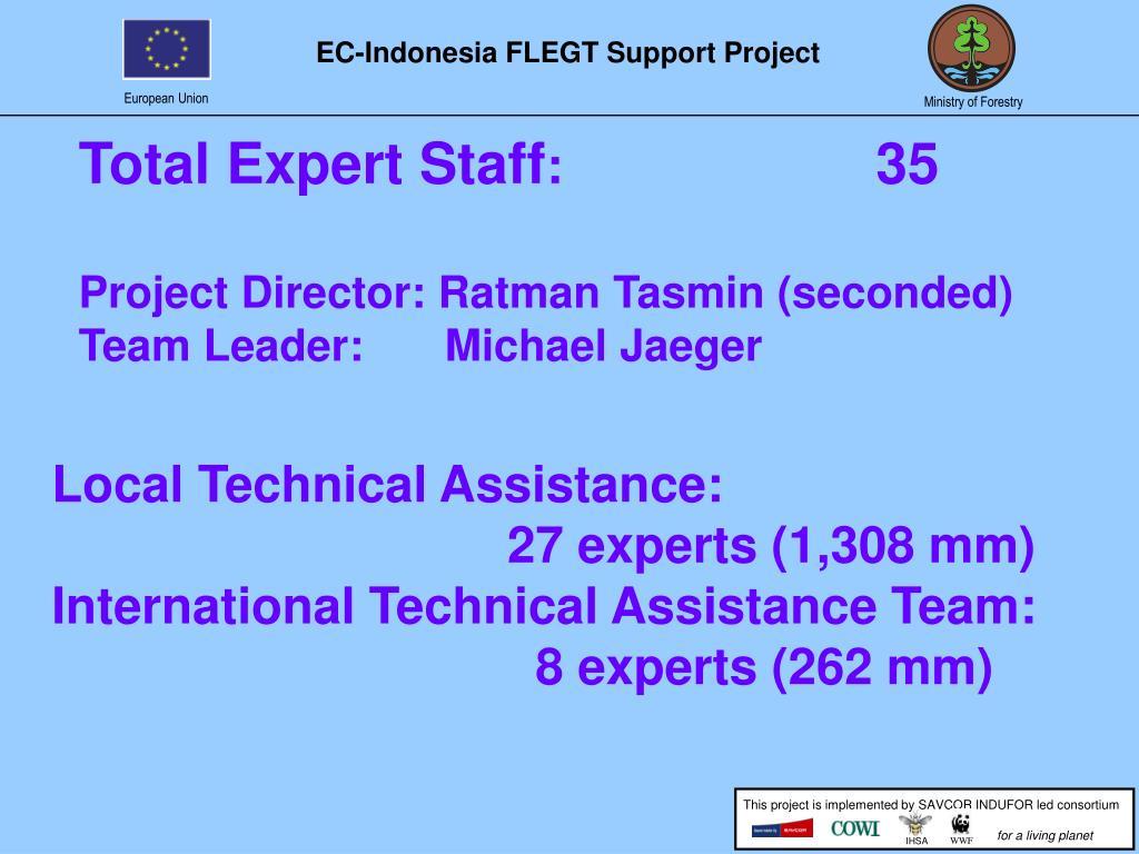 Total Expert Staff