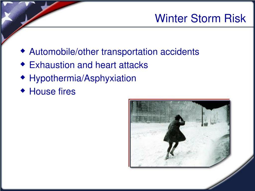 Winter Storm Risk