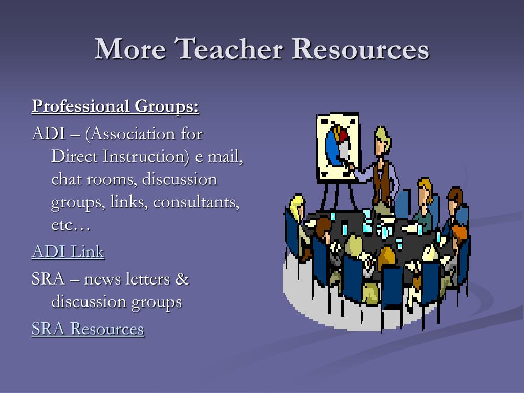 More Teacher Resources