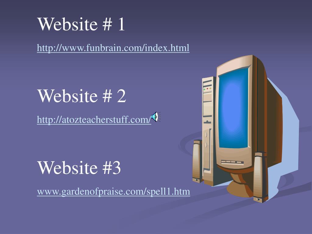 Website # 1