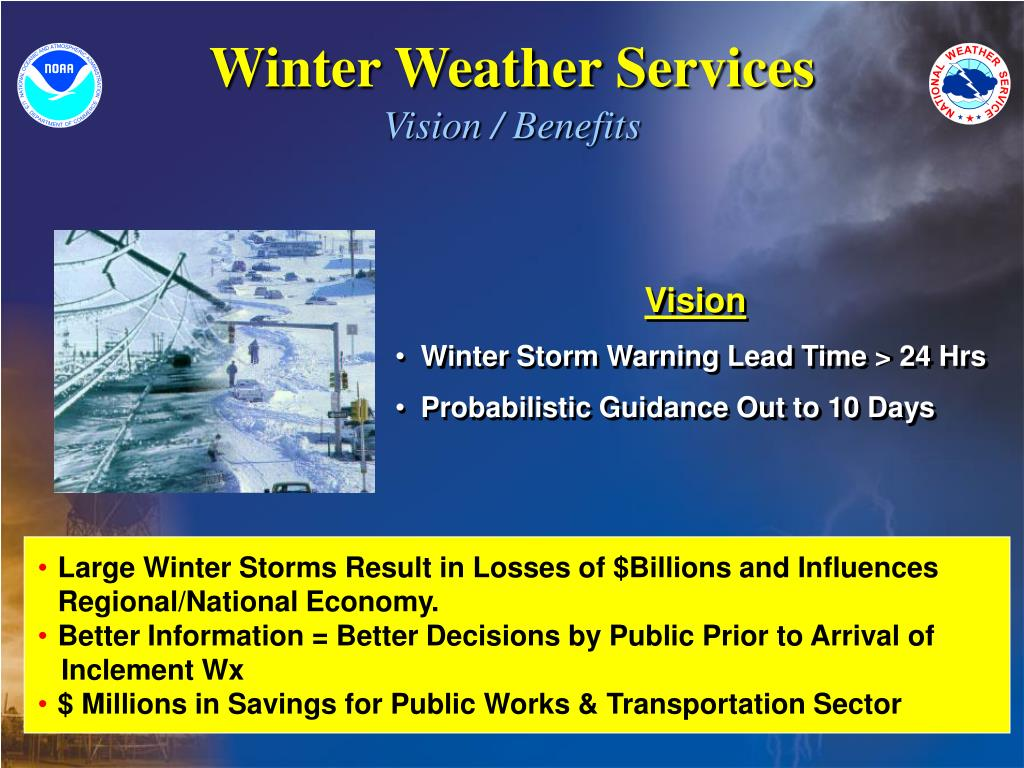 Winter Weather Services
