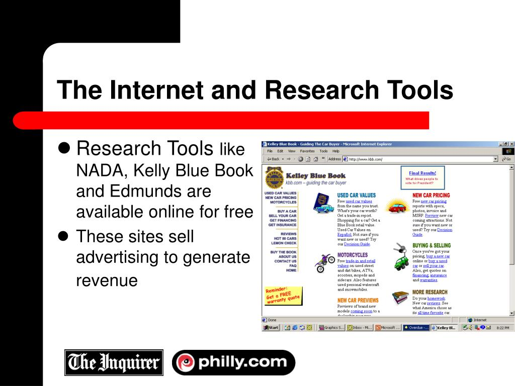 The Internet and Research Tools