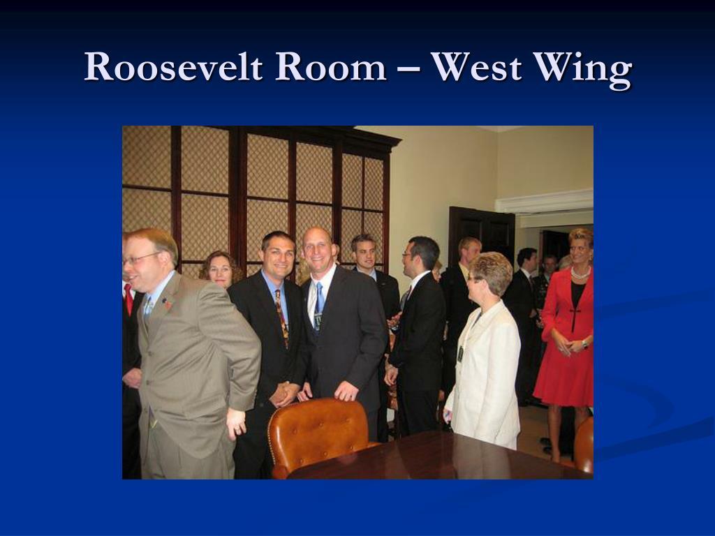 Roosevelt Room – West Wing