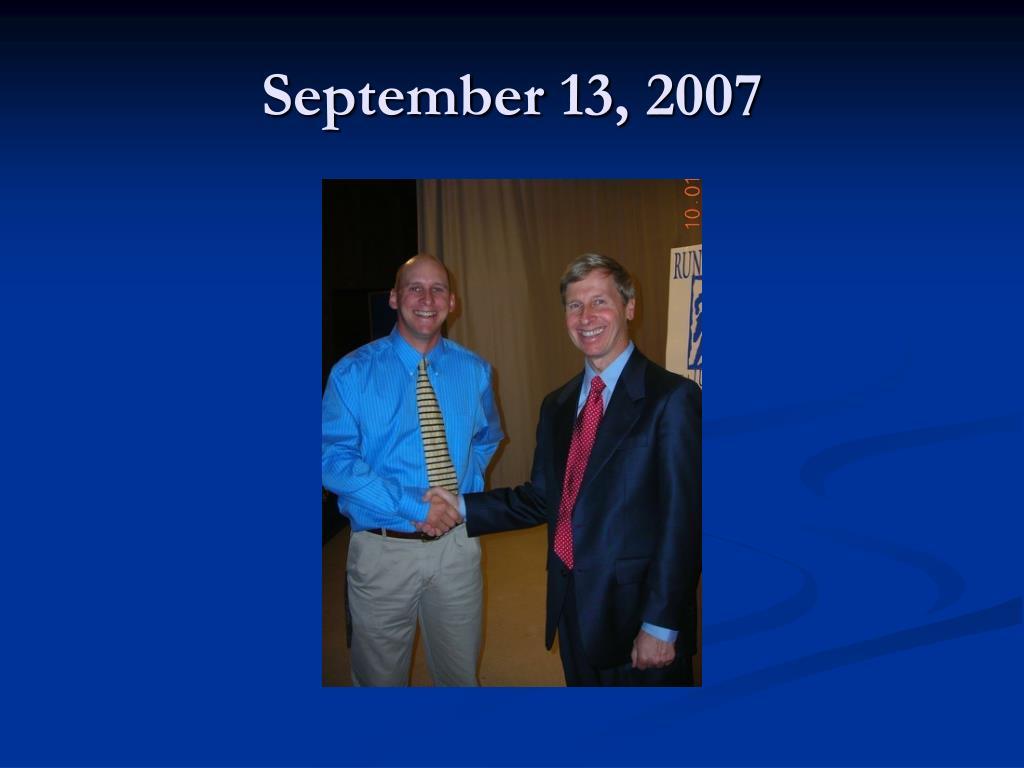 September 13, 2007
