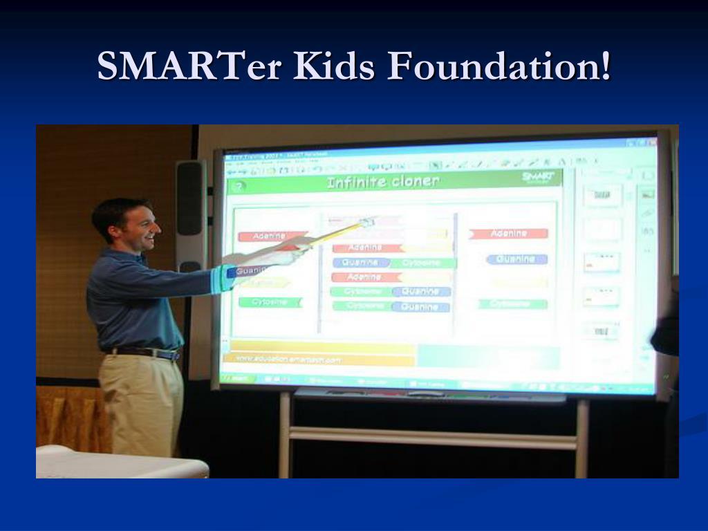 SMARTer Kids Foundation!