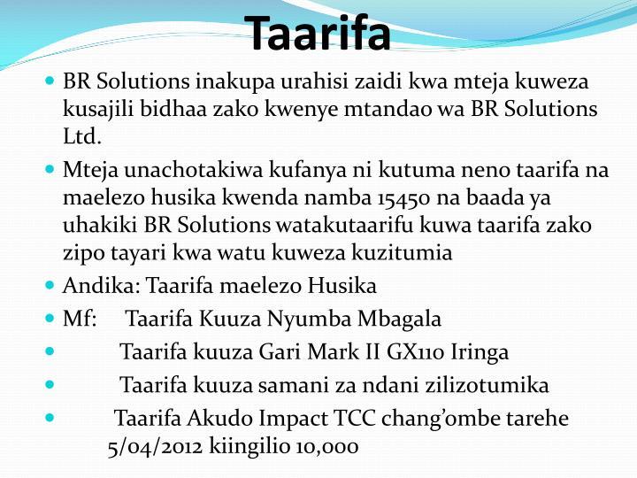 Taarifa