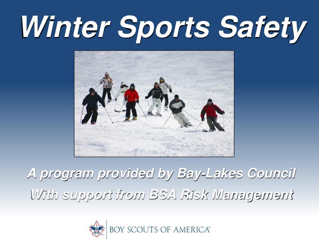 Winter Sports Safety