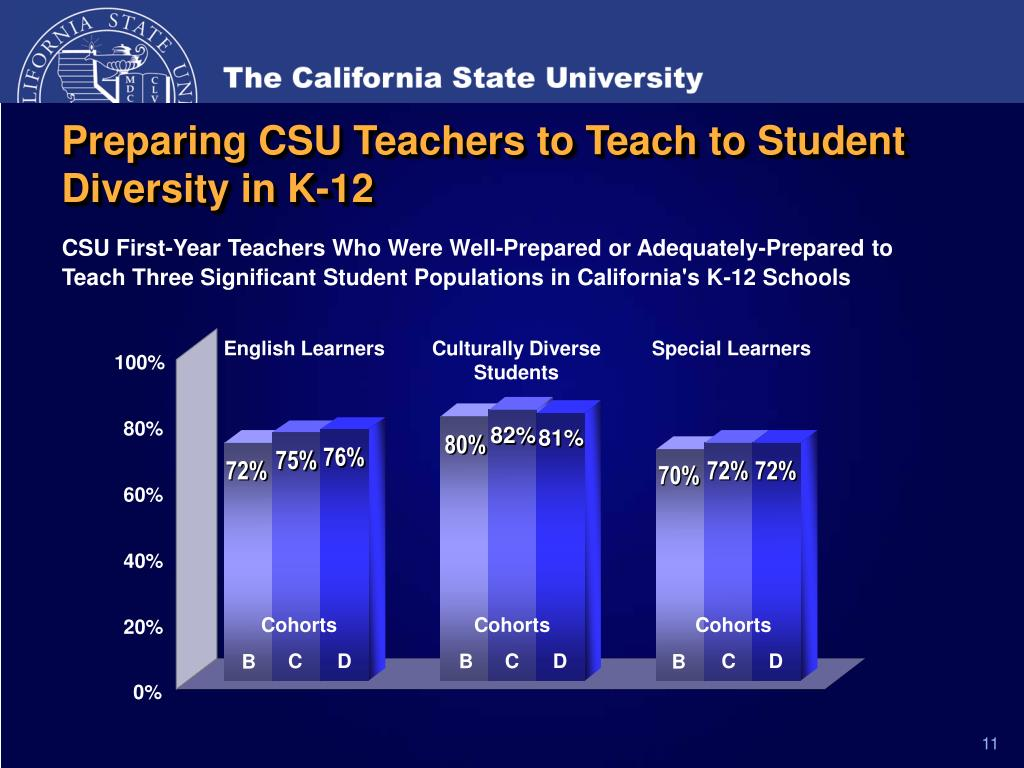 Preparing CSU Teachers to Teach to Student Diversity in K-12