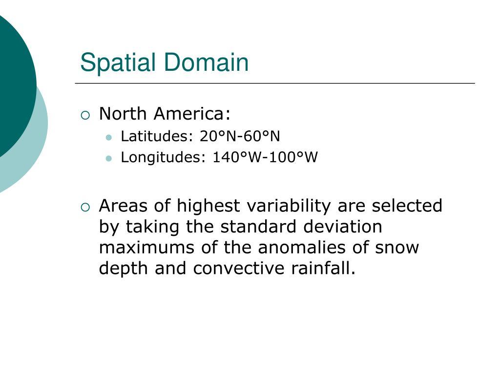 Spatial Domain